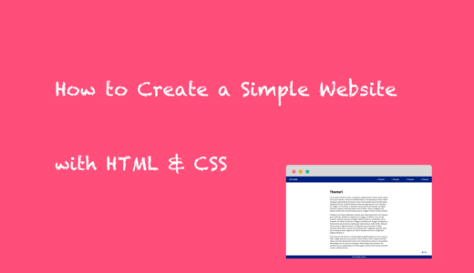 How to Create a Simple Website with HTML, CSS, and jQuery ( TypeB: Fixed Header & Footer )